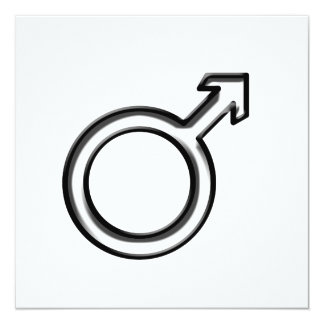 Symbol for Male Card