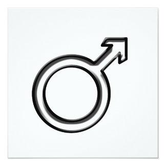 Symbol for Male Invitation