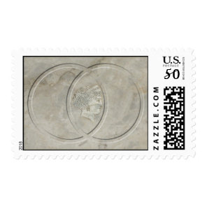 Symbol for marriage and Goddess Juno marble stamp