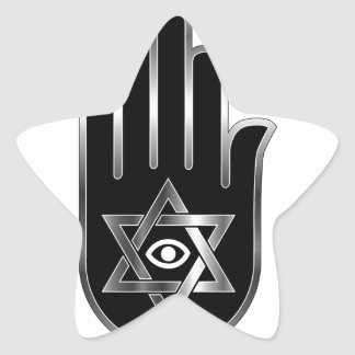 Symbol for psychic or fortune teller star sticker
