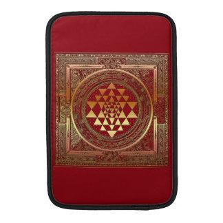 Symbol india travel mandala yantra yoga meditation MacBook air sleeve