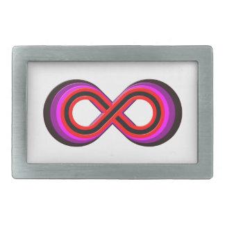 Symbol infinity infinity belt buckle