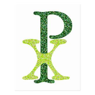 Symbol Jesus Christ PX Post Card
