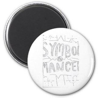 Symbol Mancer Symbols Magnet
