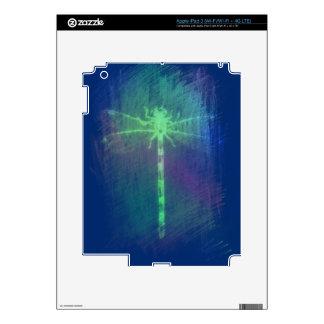 Symbol Of Change Neon Green Dragonfly iPad 3 Skin