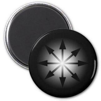 Symbol of Chaos 2 Inch Round Magnet