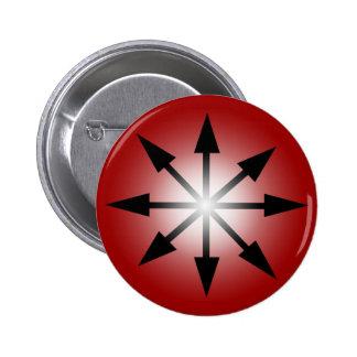 Symbol of Chaos Pinback Button