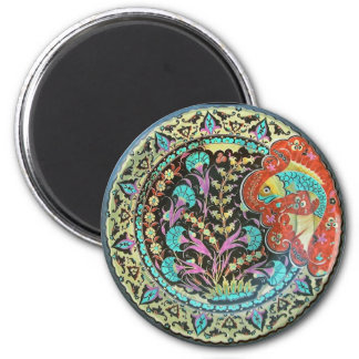 Symbol of Fortune Good Luck Charm 2 Inch Round Magnet