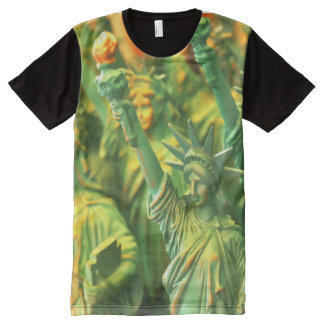 Symbol Of Freedom Lady Liberty All-Over Print T-shirt