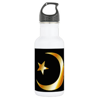 Symbol of Islam religion Water Bottle