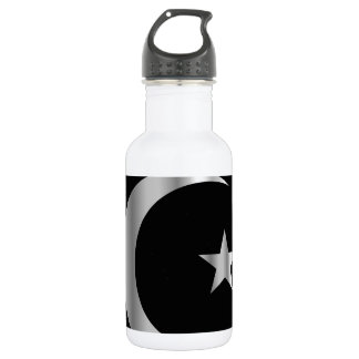 Symbol of Islam Stainless Steel Water Bottle