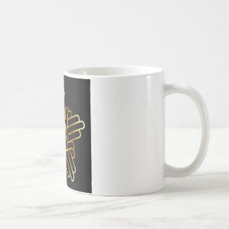 Symbol of Jainism in gold Coffee Mug