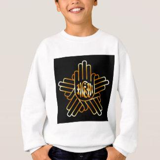 Symbol of Jainism in gold Sweatshirt