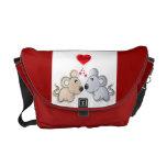 symbol of love Messenger Bag