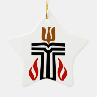 Symbol of Presbyterian religion Ceramic Ornament