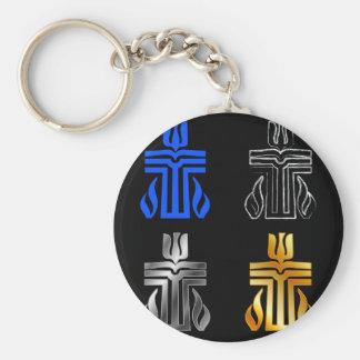 Symbol of Presbyterian religion Keychain