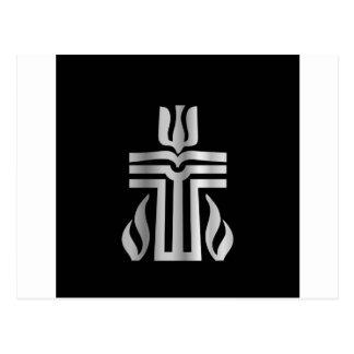 Symbol of Presbyterian religion Postcard
