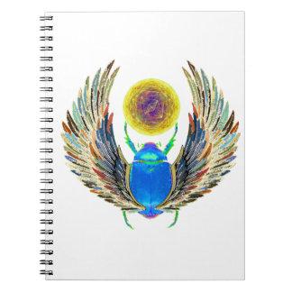 Symbol of Rebirth Spiral Notebooks