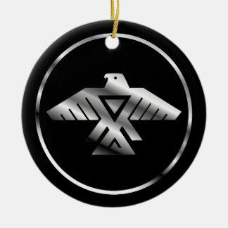 Symbol of the Chippewa Nation Ceramic Ornament