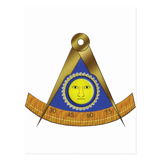 SYMBOL OF THE PAST MASTER POSTCARD