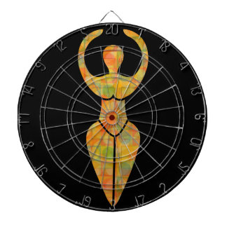 Symbol of the Wiccan goddess Dartboards