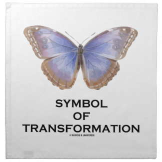 Symbol Of Transformation Butterfly Cloth Napkin