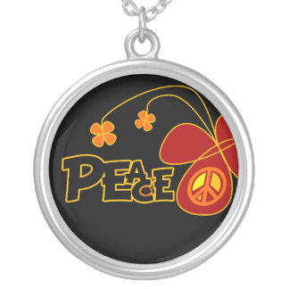 Symbol Peace Of Sign Butterfly Jewelry