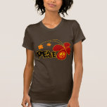 Symbol Peace Of Sign Butterfly Shirt