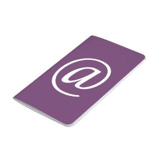 @ Symbol Pocket Journal - Plum