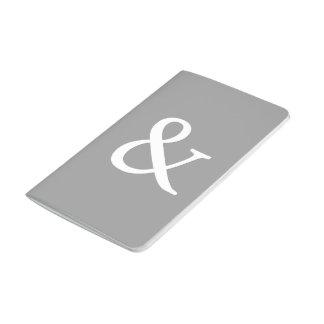 & Symbol Pocket Journal - Silver
