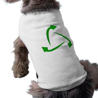 Symbol recycling hundekleidung