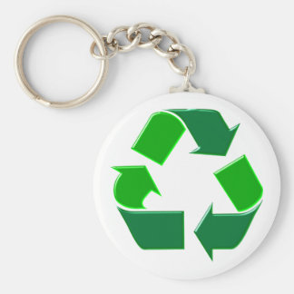 Symbol recycling key chain