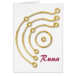 Symbol RUNA / GOLD, Runa Card