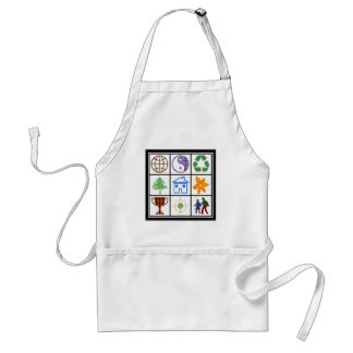 SYMBOL shapes TEMPLATE Resellers Welcome GIFTS Aprons