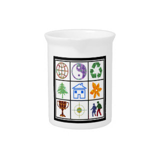 SYMBOL shapes TEMPLATE Resellers Welcome GIFTS Drink Pitcher