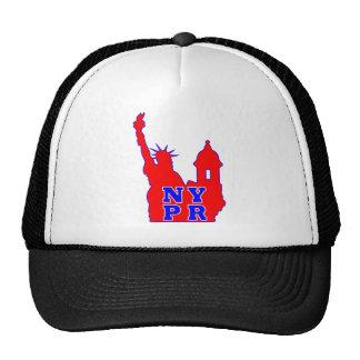 Symbol that represents both NY and PR identity Trucker Hat