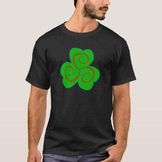 Symbol Triskele clover sheet shame skirt T-Shirt