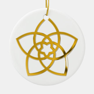 Symbol Venus Flower / GOLD Ornament