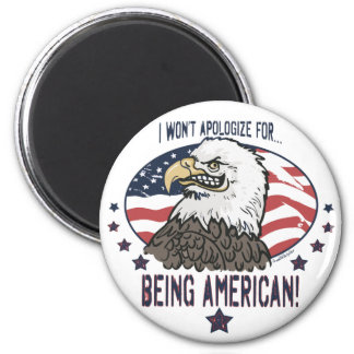 Symbolic American Eagle Magnet