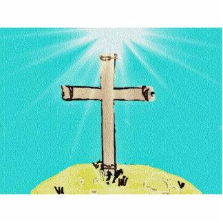 Symbolic Cross Cutout