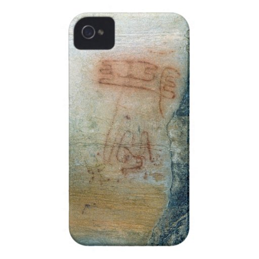 Symbolic figures (cave painting) iPhone 4 cover