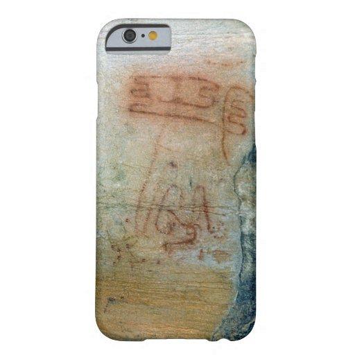 Symbolic figures (cave painting) iPhone 6 case