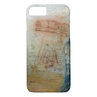 Symbolic figures (cave painting) iPhone 7 case