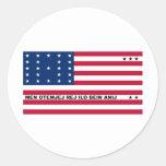 Symbolic Flag of Bikini Atoll Marshall Islanders Sticker
