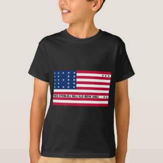 Symbolic Flag of Bikini Atoll Marshall Islanders T-Shirt