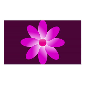 Symbolic Flower Double-Sided Standard Business Cards (Pack Of 100)