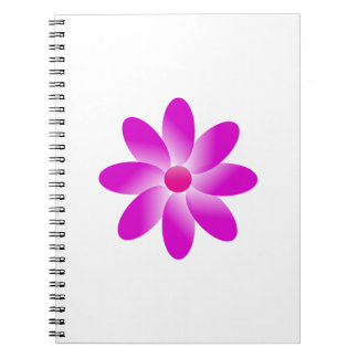 Symbolic Flower Notebook