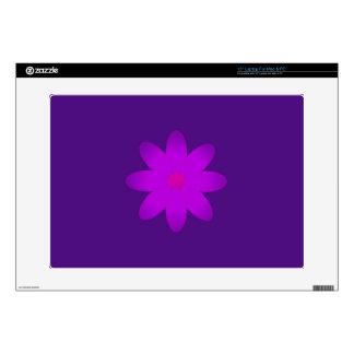 "Symbolic Flower 15"" Laptop Decals"