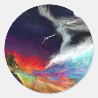 Symbolic Flows Sticker