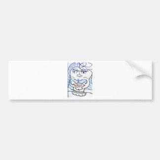 Symbolic Gentleman Bumper Stickers